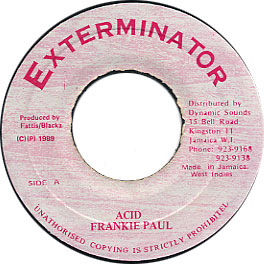 Frankie Paul - Acid