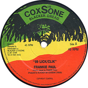 Frankie Paul - 89 Click