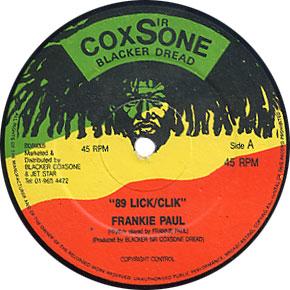 Frankie Paul - 89 Click