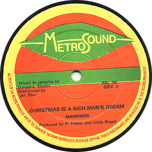 Mannings - Christmas is a Rich Man's Dream