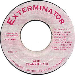 Frankie Paul - Acid