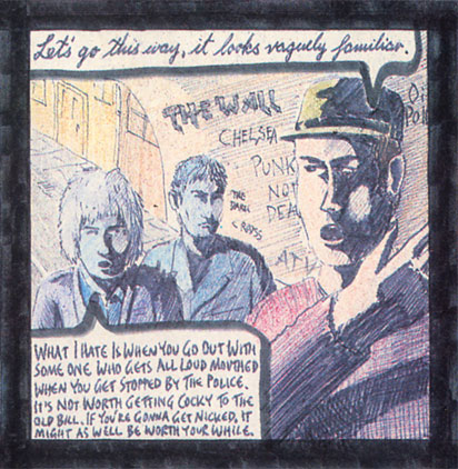 The Apostles' 3rd LP - detail